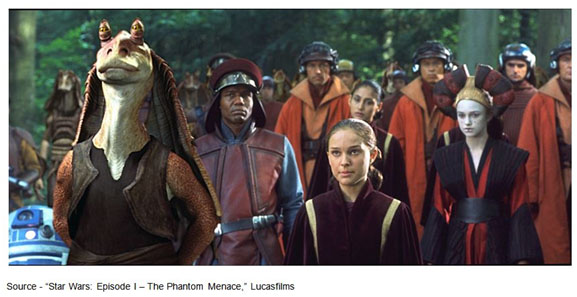"""""""I'm not allowed to train you, so I want you watch me and be mindful. Always remember, your focus determines your reality."""" – Qui-Gon Jinn, """"Star Wars: Episode I – The Phantom Menace,"""" Lucasfilms, 1999"""