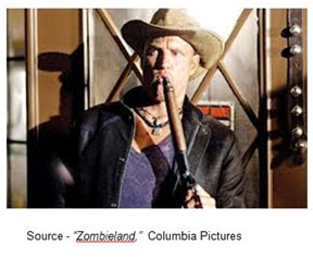 """""""There's a box of Twinkies in that grocery store. Not just any box of Twinkies, the last box of Twinkies that anyone will enjoy in the whole universe. Believe it or not, Twinkies have an expiration date."""" – Tallahassee, """"Zombieland,"""" Columbia Pictures, 2009"""