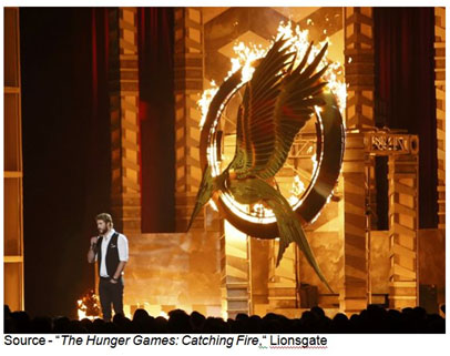 """""""I want you guys to forget everything you think you know about the games. Last year was child's play."""" – Haymitch Abernathy, """"The Hunger Games: Catching Fire,"""" Lionsgate, 2013"""