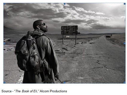 """It means that you know something even if you don't know something."" – Eli, ""The Book of Eli,"" Alcorn Productions, 2010"