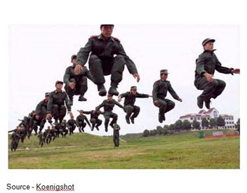 Jump – Demand orders can get the job done but telling people to jump and how high is less effective than encouraging them, helping them make the right decisions and then supporting them.