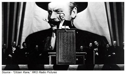 """""""Harvard, Yale, Princeton, Cornell, Switzerland... he was thrown out of a lot of colleges."""" – Mr. Bernstein, """"Citizen Kane,"""" RKO Radio Pictures, 1941"""