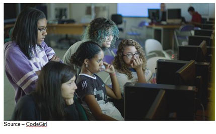 Code Warriors – There is a renewed emphasis on science education around the globe and over the past few years considerable attention has been placed on encouraging females to step beyond the historical supportive role. CodeGirl is just one of the many efforts companies are taking to empower women.
