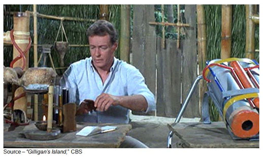 """""""You don't know anything about space."""" – Skipper, Gilligan's Island, CBS, 1964-1967"""