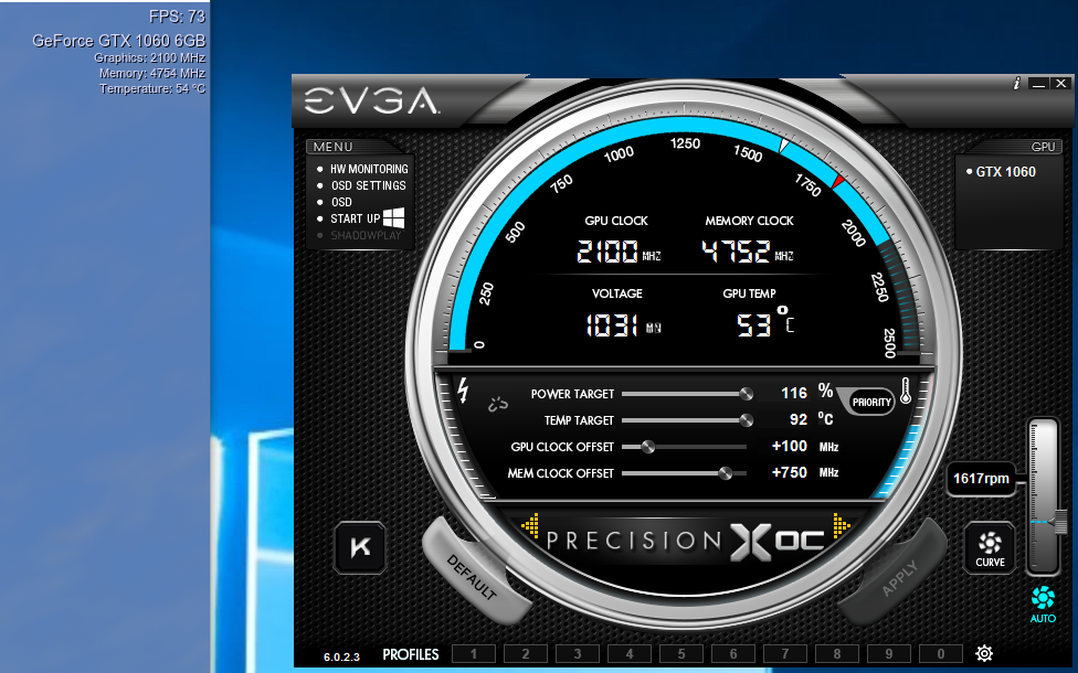 100 boost is also 2100MHz