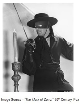 """""""My dear Esteban is forever thrusting at this and at that. He used to be a fencing instructor."""" – Don Luis Quintero, """"The Mark of Zorro,"""" 20th Century Fox, 1940"""