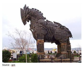 Trojan Horse – All of the wonderful connections, features and benefits being offered and bought up as quickly as possible hold the promise of a beautiful gift; but inside, there is a world of problems and issues that no one wants to tell you about.