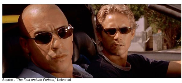 """It's not how you stand by your car; it's how you race your car."" – ""The Fast and the Furious,"" Universal, 2001"